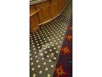 Apprentice wall & floor tiler