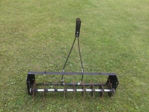 aérateur pour pelouse