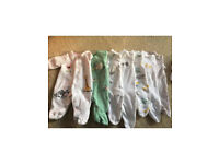 Baby bundle - 7 John Lewis baby grows 5&7lbs