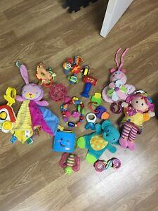 Plein de jouets!!