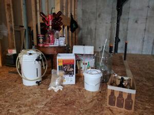 1 and 5 gallon beer making kits