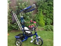 Boys 4-in-1 trike-blue