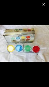 New 5 Pieces Spice Rack Set(Never Used)-Kitchen Accessories Set