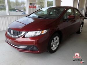 Honda Civic Sedan CVT LX 64$/SEM  GARANTIE 2021 !!! 2014