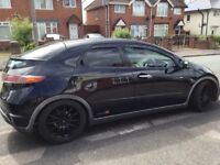 Honda Civic in good condition scratch on passenger rear door wheels are scuffed
