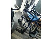 Wheelchair cushion and leg cover