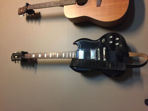 Epiphone SG Electric Guitar w/strap