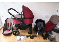iCandy Peach 3 (2016 Claret ) pram travel system 3 in 1 *CAN POST*