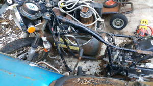 1977 Honda Supersport plus a parts bike