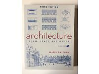 """""""Architecture: Form, Space and Order"""" book by Francis D. K. Ching"""