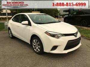 2016 Toyota Corolla S Tech package  - Low Mileage