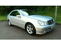 2005 55 MERCEDES C180 KOMP. ELEGANCE AUTOMATIC * LOW MILEAGE *