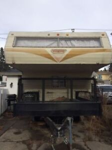 Camper and Trailer