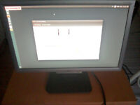 Acer 19 inch widescreen monitor AL1916Ws with cables.