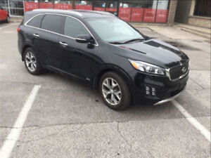 2016 Kia Sorento 2.0L Turbo SX LOADED! NAV, SUNROOF