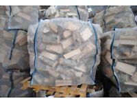 Large bulk bag of Kiln Dried Hardwood logs