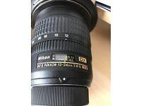 nikon 12-24 wide angle f4 lens