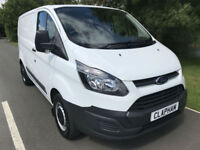 2015 65 FORD TRANSIT CUSTOM 2.2TDCI 100BHP 290 ECONETIC L1 H1 ANY UK DELIVERY