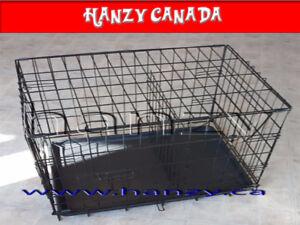 Cage Neuves pour chien avec 2 portes et separateur