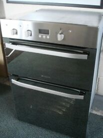 Hotpoint double Oven nearly new
