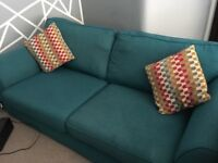 Gone pending collection -3 seater couch, one year old and good condition