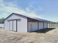 Steel Pole Barns, Garages, Workshops