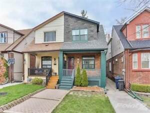 Homes for Sale in Woodbine/Danforth, Toronto, Ontario $849,900