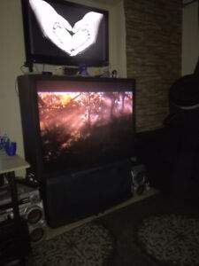 """52"""" Sony Projection TV with remote"""