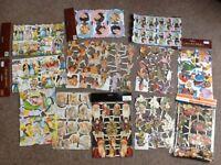 Various scraps in original packaging