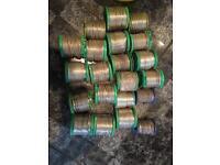 Solder lead rolls