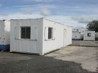 32ft 10ft Anti Vandal Portable Cabin Welfare Unit Site Office FOR SALE shipping container shed store