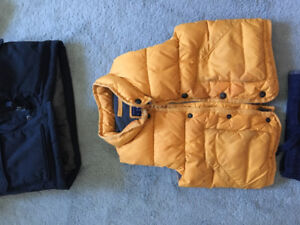 Size 3 gap winter jacket and fall vest