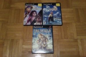 Final Fantasy 10 X / 10-2 X-2 / 12 XII