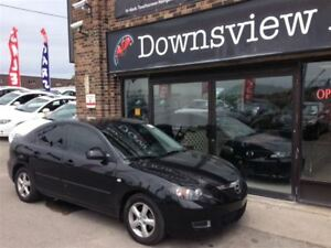 2008 Mazda MAZDA3 AUTO!!! LOADED!!! ALLOYS!!! FULLY CERTIFIED!!!