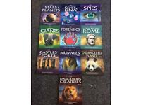 Set of 10 educational books
