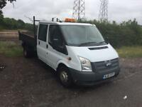 Ford transit tipper 61 plate