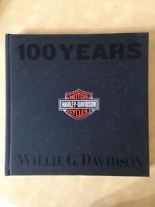 100 Years of Harley Davidson - Hard cover