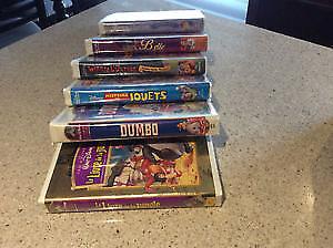 Film VHS et DVD pour enfant
