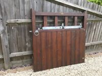 Wooden garden gate 4ft by 4ft