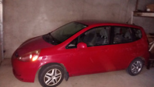 2007 Honda Fit DX Berline nego