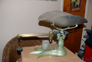 ANTIQUE WEIGH SCALES......NOW ONLY $60....FIRM