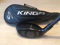 KING COBRA F7 - Men's 3-4 Hybrid - R Flex R/H *VGC*