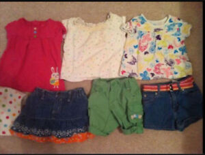 Girls Clothes:Summer 6-12mos,6-9&9mos$15