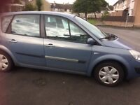 2006 Renault scenic oasis good for parts no mot or tax