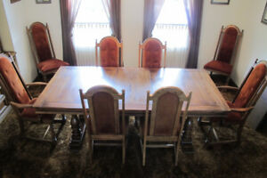 11 piece dining suite - moving sale