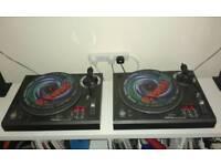 VESTAX PDX-D3 DJ TURNTABLE DECKS