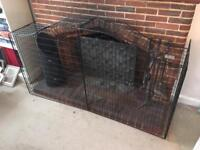 Mothercare fire guard with fixings