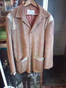 Vintage Men's Lariat Deerskin Jacket