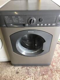 Silver Hotpoint Washing 8kg Machine Fully Working Order Just £75 Sittingbourne