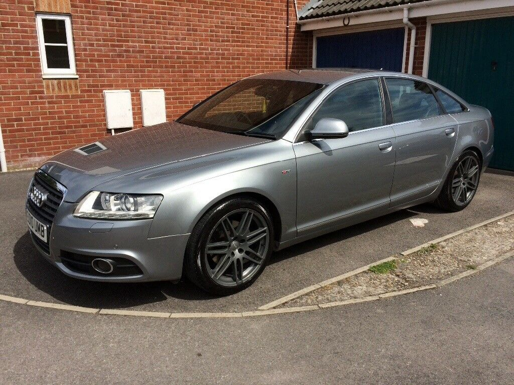 audi a6 s line 2010 facelift grey manual diesel in weston super mare somerset gumtree. Black Bedroom Furniture Sets. Home Design Ideas